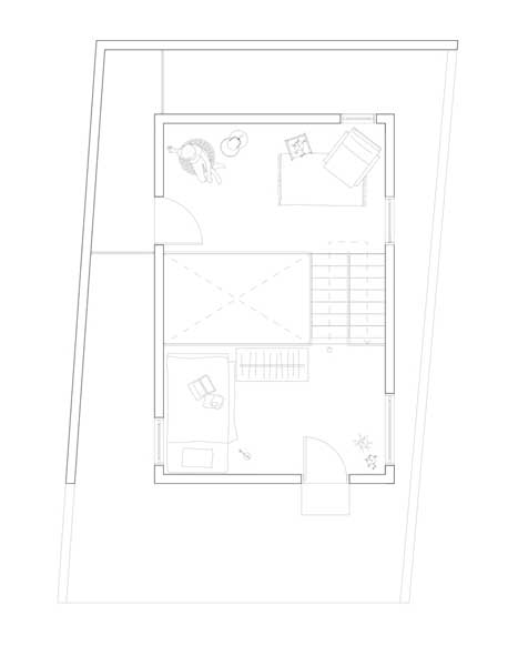 Denah Rumah Compact Minimalis