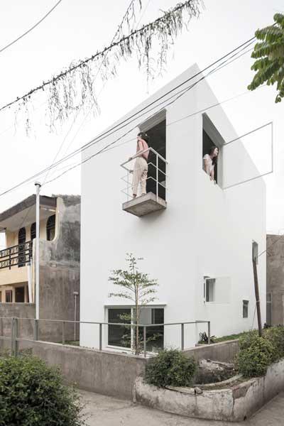 Model Rumah Minimalis 4x6x6 HouseTampak Depan