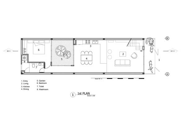Denah Minimalist House