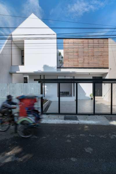 Model Rumah Minimalis 2 Lantai Sederhana AT 3/56 house