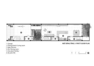 gambar denah rumah 2 lantai lengkap dengan tampak