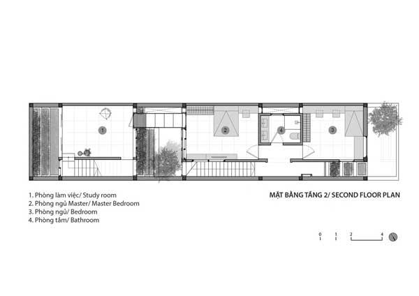 Denah Rumah 2 Lantai Di Lahan Sempit 2nd floor