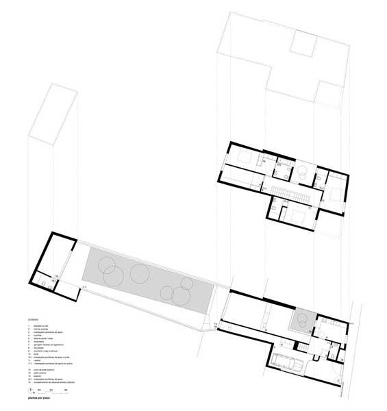 Denah House in Matosinhos