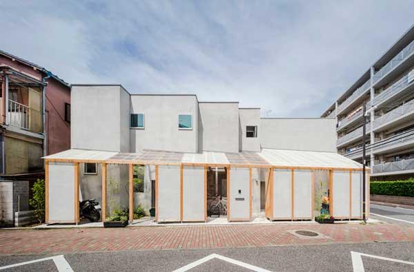 Tampak Depan Rumah 2 Lantai Ala Jepang