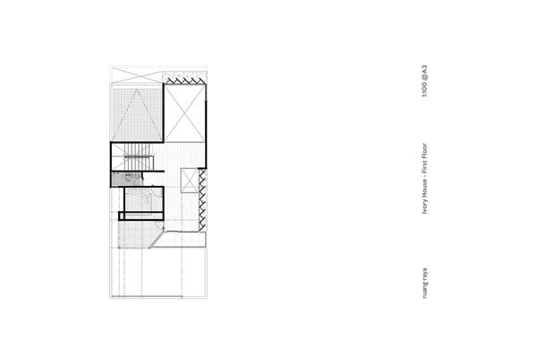 Denah Rumah Mewah Minimalis lantai 2