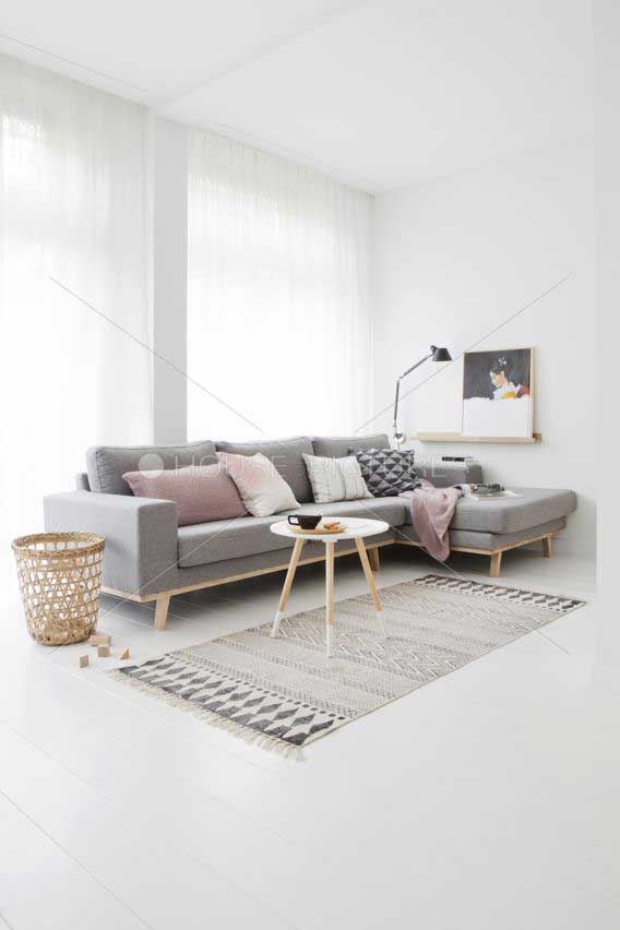 Keramik Lantai Ruang Tamu Rumah Minimalis