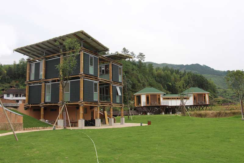 Energy Efficient Bamboo House