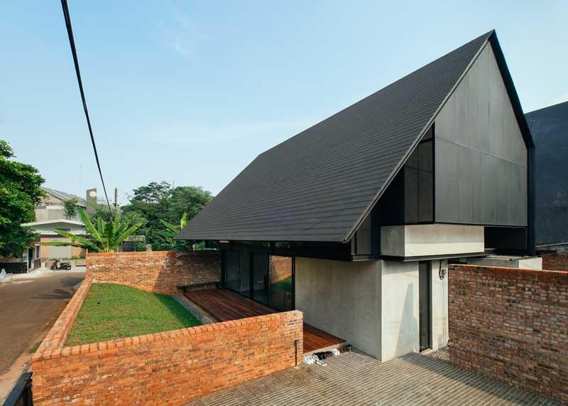Desain Rumah Industrial Low Budget Sederhana