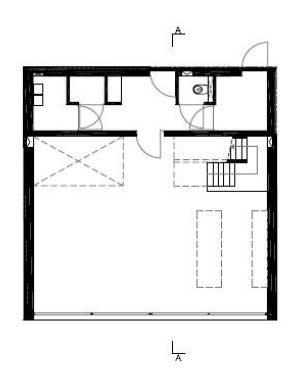 Denah Lantai 2 10x10x10 House