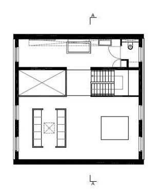 Denah Lantai 1 10x10x10 House