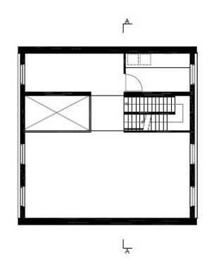 Denah Lantai 3 10x10x10 House