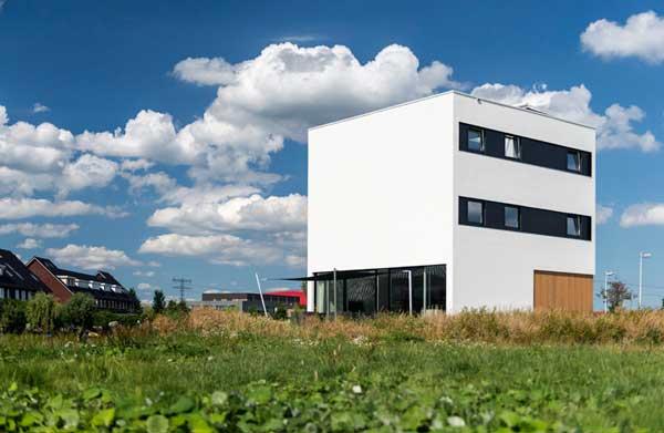 desain rumah mewah minimalis 10x10x10 House