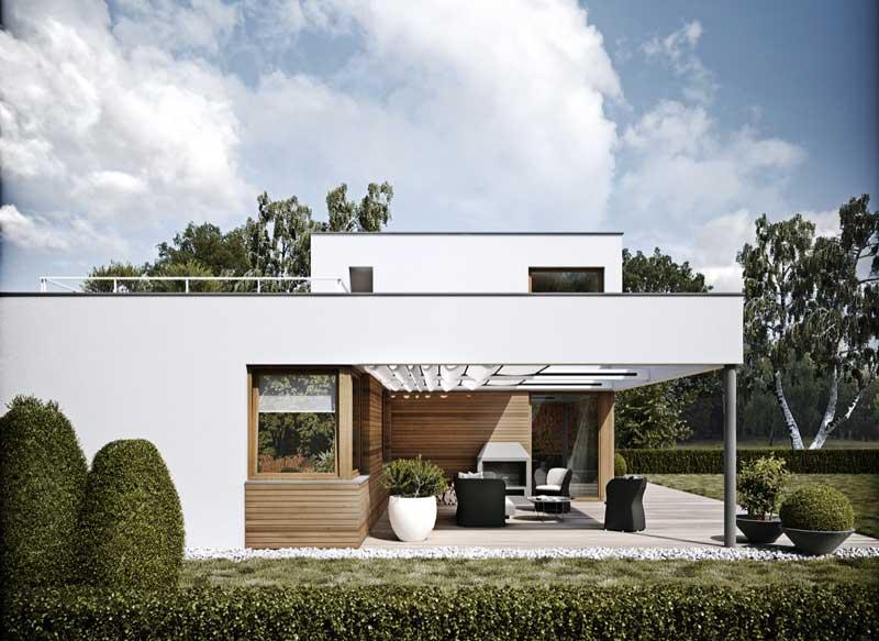Model Fasad Rumah Minimalis