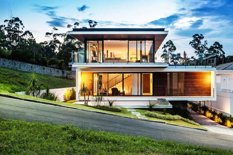 Tampak Depan Rumah Minimalis Lebar 10 Meter