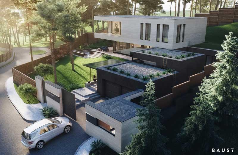 Rumah Modern Type Perumahan