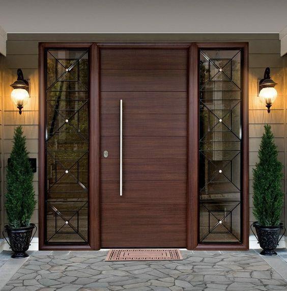 model pintu minimalis satu pintu