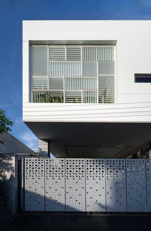 Desain Fasad Minimalis Sederhana