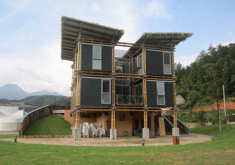 Tampak Energy Efficient Bamboo House