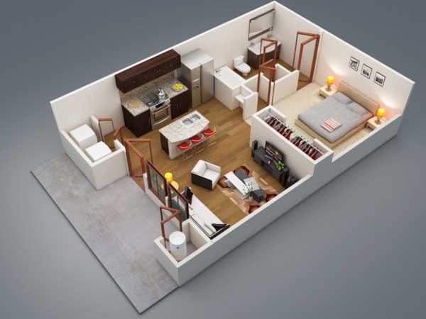 Apartemen Mewah 1 Kamar