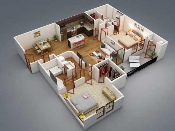 Apartemen Seperti Di Korea