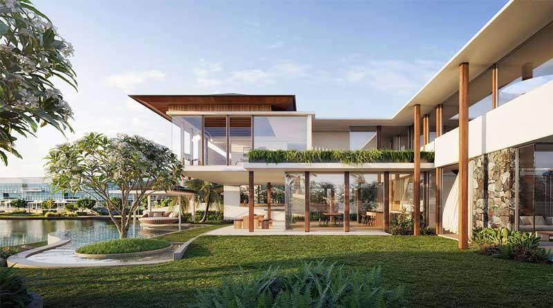 Rumah Seperti Resor Mewah