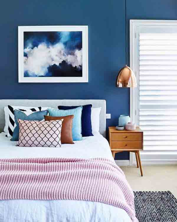 Blue Bedroom Colors