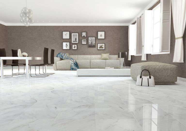 Keramik Lantai Ruang Tamu dari Granit