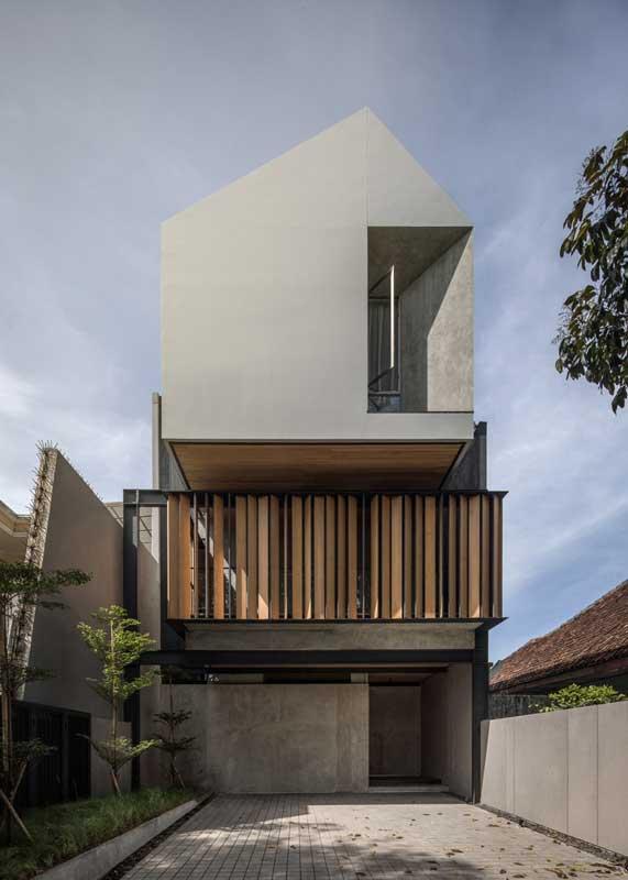 Desain Rumah Indutrial Sederhana - SN-House