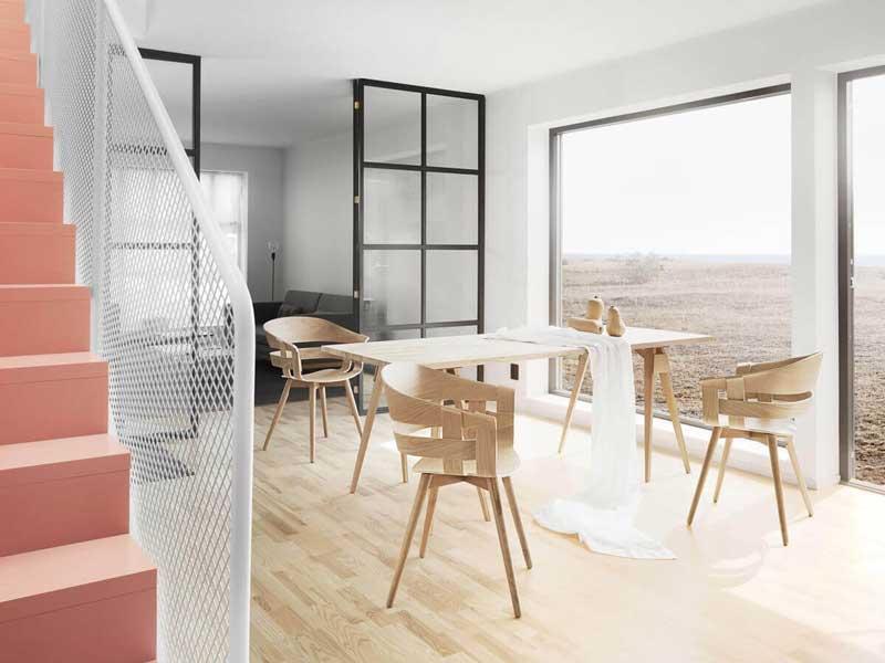 Ruang Makan Minimalis Skandinavian
