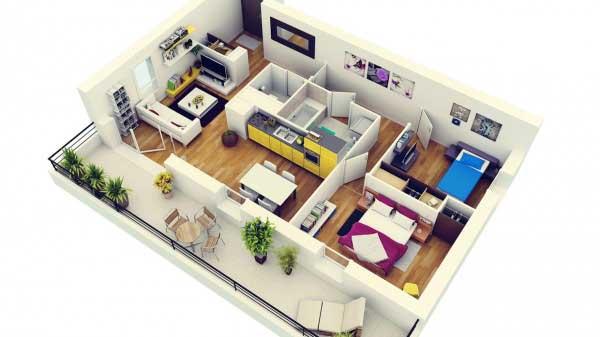 Apartemen Minimalis