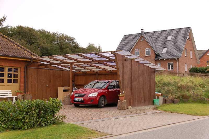 carport kayu