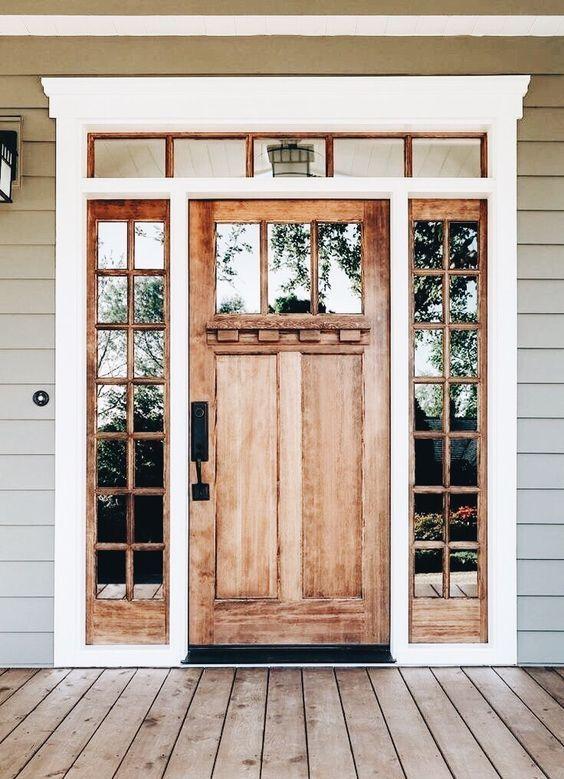 pintu rustik