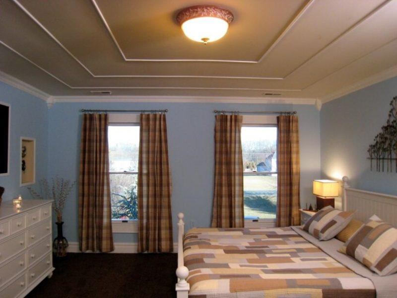 model  plafon pvc kamar tidur drop ceiling