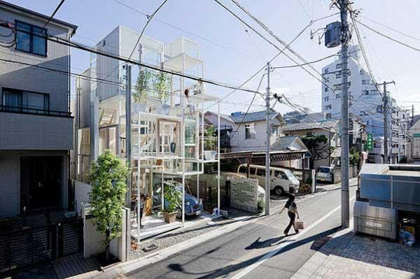 Rumah Kaca Yang Mengagumkan Di Jepang