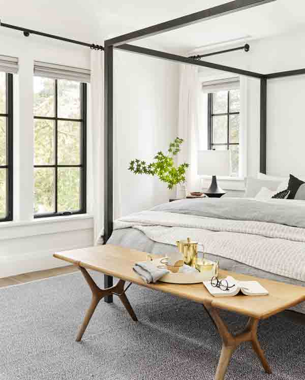 White bedroom colors