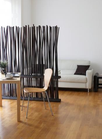 pembatas ruanagan minimalis dari bambu