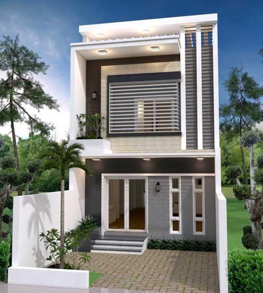 desain rumah minimalis ukuran 6x12