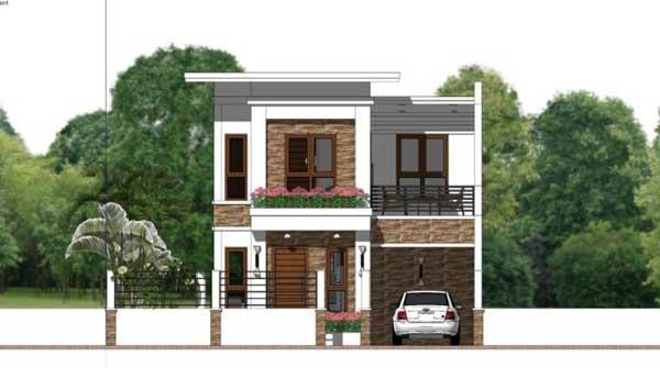 desain rumah ukuran 7x10