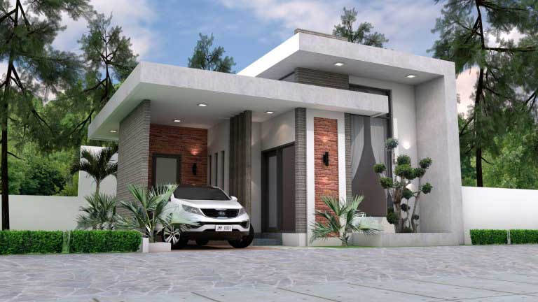 model rumah sangat sederhana ukuran 8x10