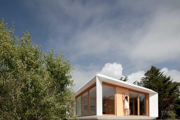 model rumah minimalis pedesaan Jepang