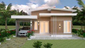 model rumah sangat sederhana ukuran 9x12