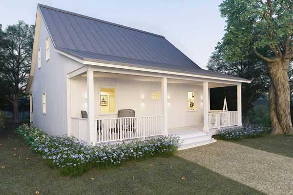 model rumah sangat sederhana ala pedesaan