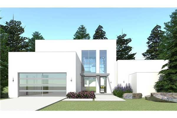 Denah Rumah Dengan Kolam Renang Desain Minimalis