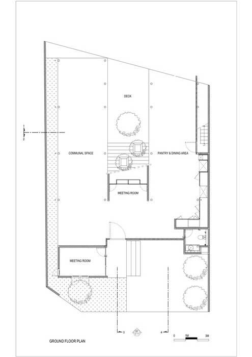 Sketsa Rumah Kost Lantai 2