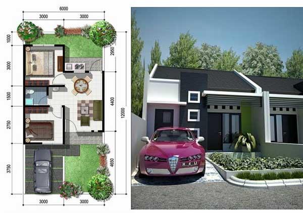 model rumah minimalis sangat sederhana