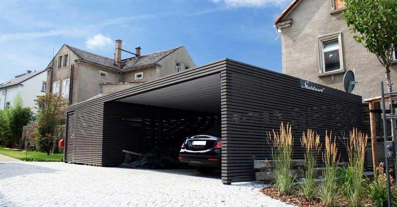Desain Garasi Minimalis Mobil & Motor