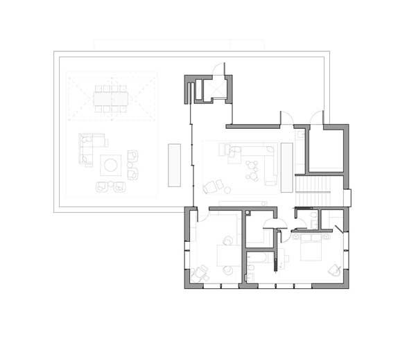 Denah rumah mewah Wellesley lantai 4