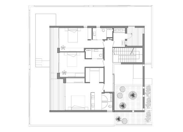 The Urban House lantai 2