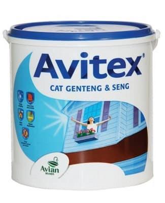 cat genteng Avian Paint Avitex Roof