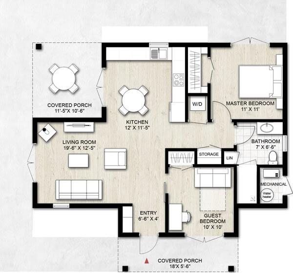 sketsan denah rumah 3 kamar 8x12